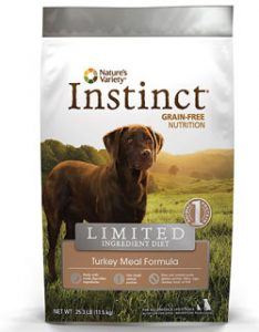 instict grain-free nurition dog food