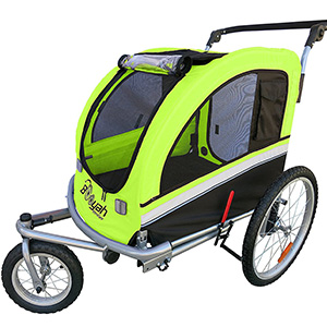 Image of Booyah Large Pet Bike Trailer