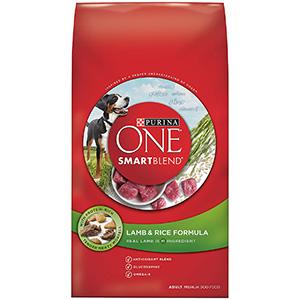 Image of Purina One SmartBlend Lamb & Rice Formula