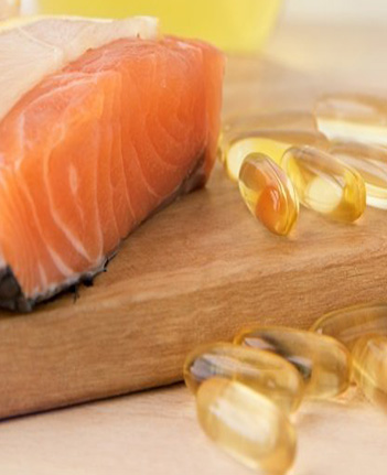 salmon and fish oil pills