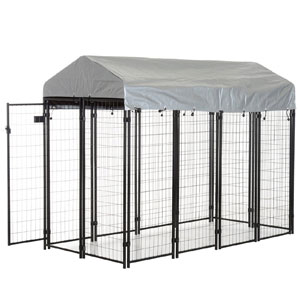 PawHut Outdoor Covered Dog Box product image