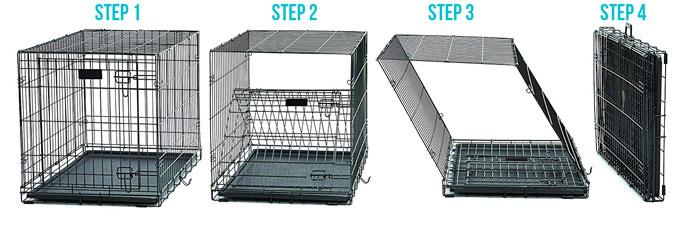 Dog crate-Storage