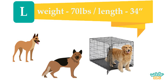 L kennel dimensions for large breeds