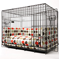 Image of bed for pet crate