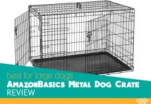 Feature image for AmazonBasic large cage for dogs