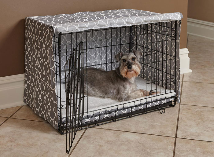 Cover for dog crate