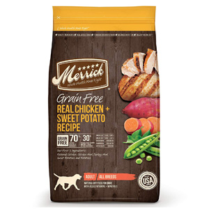 Product image of Merrick Grain Free Dry Dog Food Real Chicken & Sweet Potato