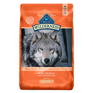 Product image of Blue Buffalo Wilderness Large breed With Chicken