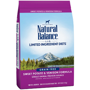 Product image of Natural Balance Sweet Potato & Venison Formula