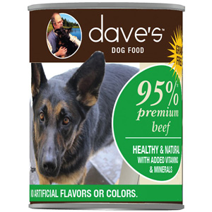 Product image of Daves Pet Food 95 premium beef