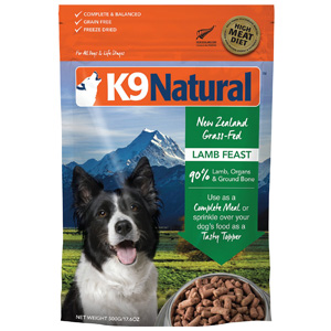 Product image of K9 Natural Lamb Feast