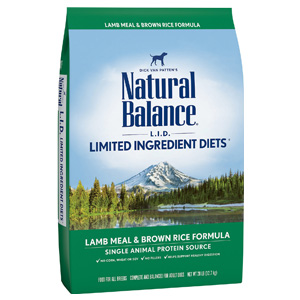 Product image of Natural Balance Lamb Meal and Brown Rice Formula