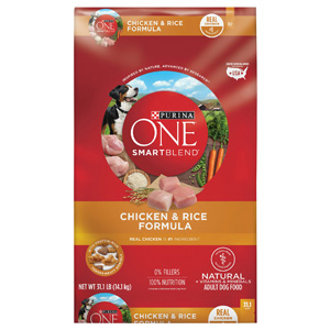 Product image of Purina ONE SmartBlend Chicken and Rice Formula
