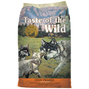 Product image of Taste of the Wild High Prairie Puppy Recipe
