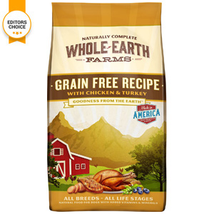 Product image of Whole Earth Farms All Breeds With Chicken and Turkey