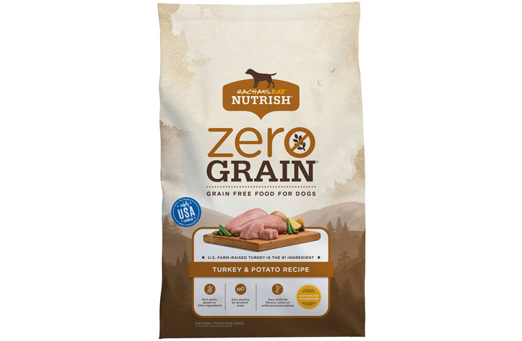 Image of Rachael Ray Zero Grain Turkey and Potato Ingredients