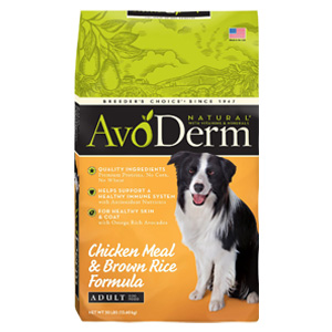 Product image of AvoDerm Chicken Meal and Brown Rice Adult