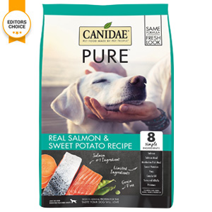 Product image of CANIDAE Real Salmon and Sweet potato recipe editors choice