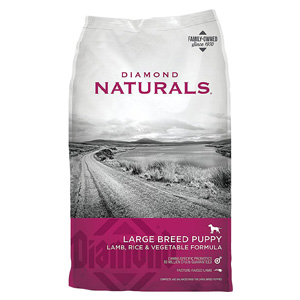 Product image of Diamond Naturals Large breed puppy lamb