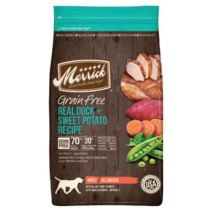 Product image of Merrick Duck + Sweet Potato