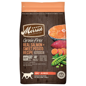 Product image of Merrick Salmon & Sweet Potato