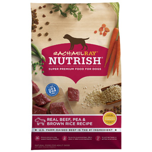 Product image of Rachael Ray Nutrish Natural Beef, Pea, & Brown Rice
