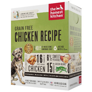 Product image of The Honest Kitchen Chicken recipe