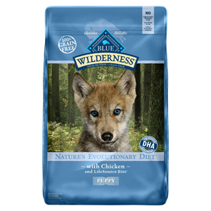 Product image of Blue Buffalo Wilderness Puppy Chicken Recipe