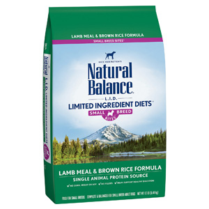 Product image of Natural Balance Small Breed Lamb Meal