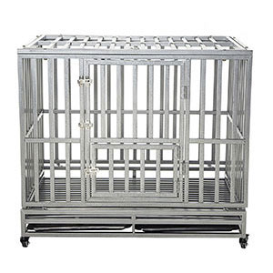 product image of LUCKUP Heavy Duty Dog Crate